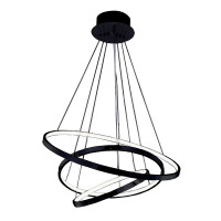 AZzardo Wheel 3 Black Dimmable -